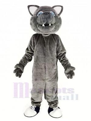 gris Loup Mascotte Costume Animal