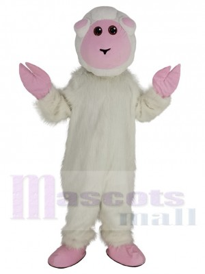 Chèvre Le mouton costume de mascotte