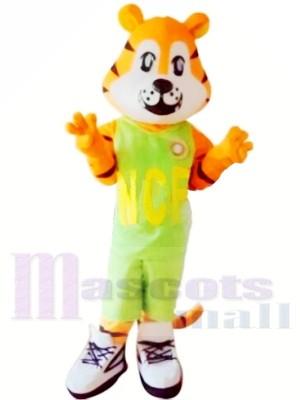 Tigre de bande dessinée de sport Costumes De Mascotte