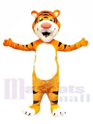 Tigre léger super mignon Costumes De Mascotte