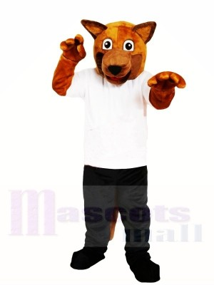 Chien brun Costume de mascotte Livraison gratuite
