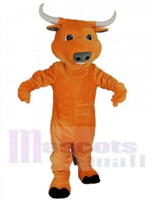 Taureau costume de mascotte