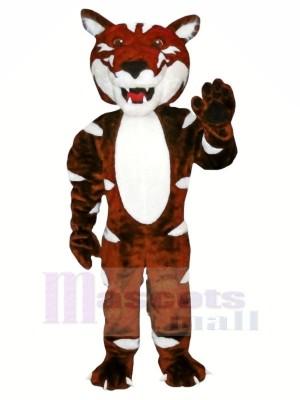 Sombre marron Sauvage Chat Mascotte Déguisements Animal