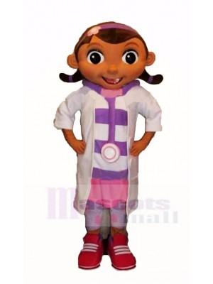 Drôle Doc Mcstuffins Mascotte Costume Dessin animé