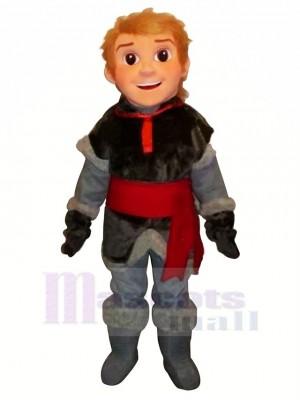 Congelé Kristoff Mascotte Costume Dessin animé
