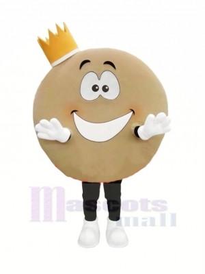 Mignonne Crêpe Mascotte Costume Dessin animé