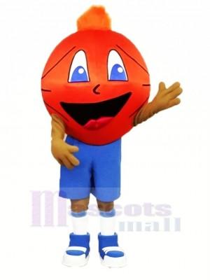 Marrant Basketball Mascotte Costume Dessin animé
