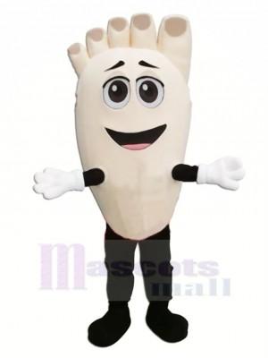Drôle Pied Mascotte Costume Dessin animé