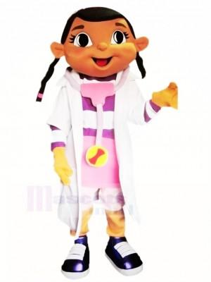 Doc Mcstuffins avec Gros Yeux Mascotte Costume École