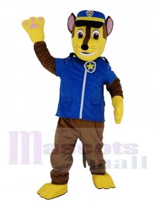 Paw Patrol Chase avec Bleu Sac à dos Mascotte Costume