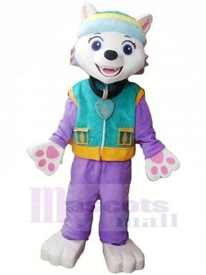 Patte Patrouille Paw Patrol Everest Mascotte Costume Dessin animé