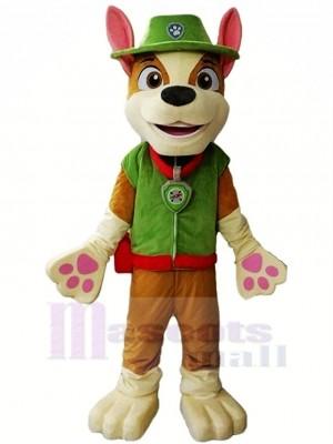 Patte Patrouille Paw Patrol Tracker Mascotte Costume Dessin animé