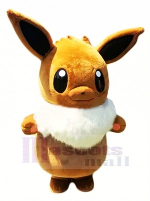 Pokémon Pokémon Évoli Mascotte Costume Dessin animé