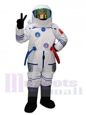 L'astronaute de l'espace Costume de mascotte Gens