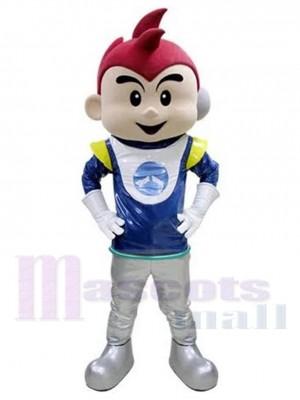Astronaute mignon Garçon Cosmonaute Costume de mascotte Gens