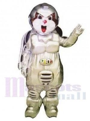Ours astronaute Cosmonaute Costume de mascotte Animal