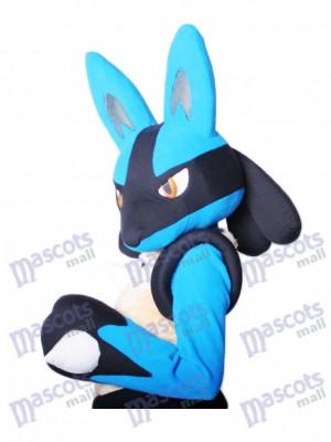 Costume de mascotte de dessin animé japonais Lucario Pokémon Pokemon Go TYPE A