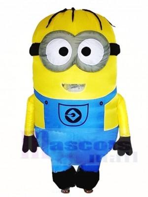Méprisable Moi Bleu Deux Les yeux Minions Gonflable Halloween Noël Les costumes pour Adultes
