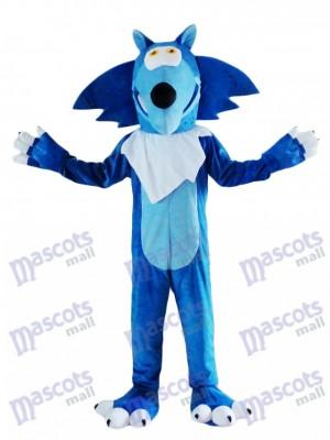 Déguisement de mascotte Coyote bleu loup Animal