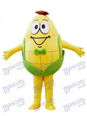 Caricature de costume de mascotte de maïs