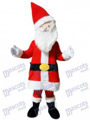 Costume de mascotte de Noël père noël père noël