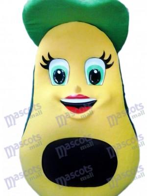 Avocat frais Mascotte Costume Fruit Plante alimentaire