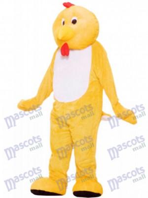 Poulet jaune Mascotte Costume Animal