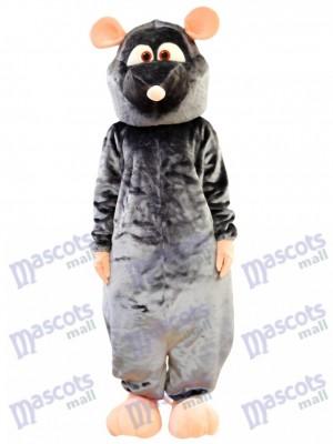 Costume de mascotte de rat gris Animal