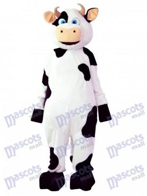 Caricature de costume de mascotte de vache