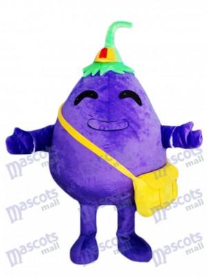 Purple aubergine enfant légumes mascotte Costume plante alimentaire
