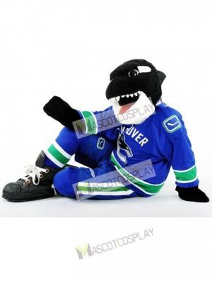 Fin de la baleine du Costume de la mascotte des Orques de Vancouver Canucks Animal