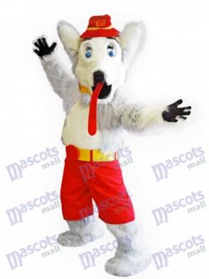 Harvey the Hound Costume de mascotte des flammes de Calgary Animal