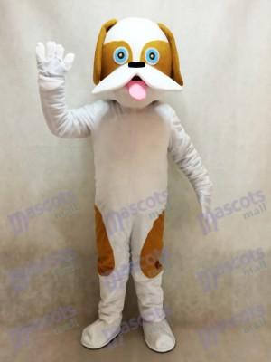 Costume de mascotte de chien tacheté