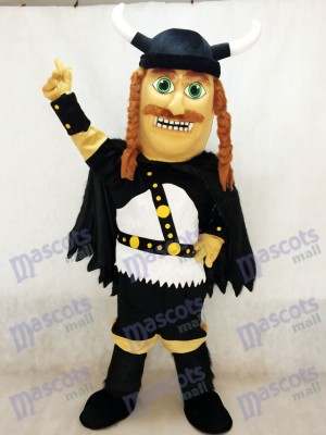 Costume de mascotte Viking adulte