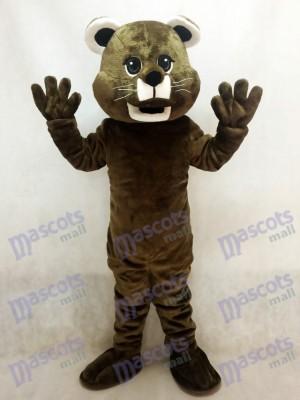 Costume de mascotte bébé cougar marron Animal