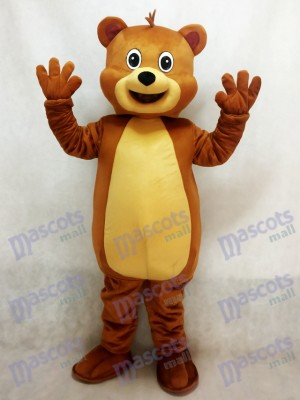 Fit Costume mascotte ours brun
