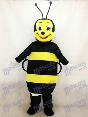 Insecte Costume mascotte abeille noire et jaune
