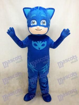 PJ Masks Bleu Catboy Connor Garçon Mascotte Costume
