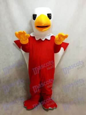 Costume de mascotte griffon rouge
