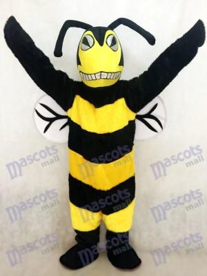 Nouveau costume de mascotte abeille / frelon adulte noir et jaune