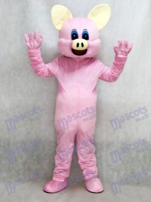 Nouveau Mascotte de Cochon Rose Costume Adulte Animal