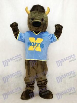 Sport Bison Buffalo Mascotte Costume