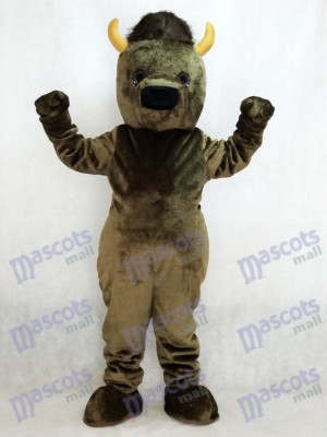 Buffle Bison Mascotte Costume
