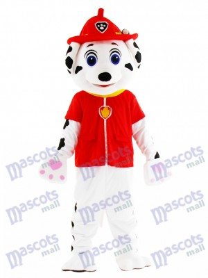 Marshall Paw Patrol chien Mascotte Costume Cartoon Anime