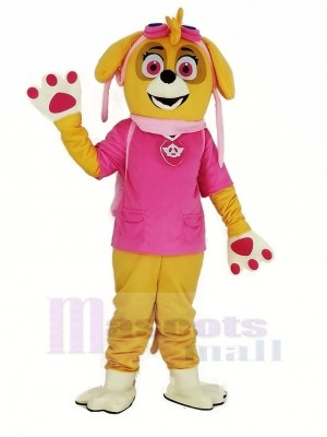 Paw Patrol Skye Adulte Mascotte Costume Dessin animé