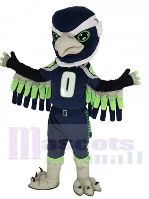Blitz the Seahawk BOOM Seattle Seahawks the Seahawk Costume de mascotte Animal