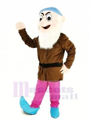 Nains avec marron Manteau Mascotte Costume