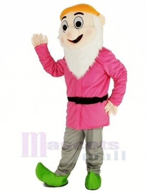 Nains avec rose Manteau Mascotte Costume