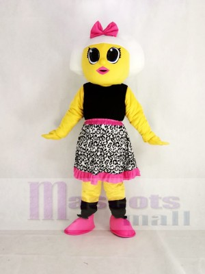 Réaliste LOL Surprise Poupée Diva Géant Mascotte Costume Dessin animé