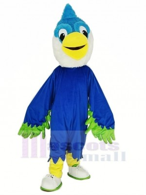 Royal Bleu Tête Oiseau Mascotte Costume Animal